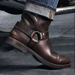 Men's Frye Harness Motorcycle Boots